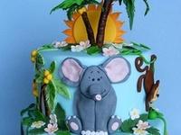 Cakes - Safari, Jungle, Farm & Animals