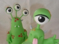 Cakes - Monsters, Space & Aliens