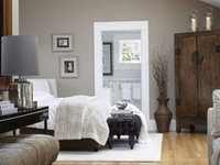 Ideas for bedroom arrangement, furniture, decor, and color.