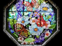 Stain glass and mosaics