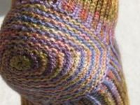 Crochet or knit heels, toes and thumbs