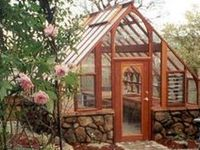 structures for garden including studios, chicken coops, green houses, sheds, potting benches........