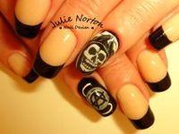4D Oscar The Grouch Acrylic Nail Art  AmazingNailArtorg