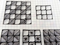 For Zentangle patterns