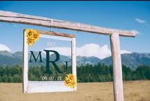 Wedding Inspiration / Ideas, musings, and inspirations for a rustic, sunflower inspired wedding
