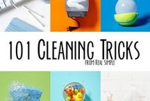 cleaning tips / by Annette Bohlmann