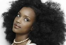 Afro Centric / natural hair styles