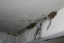 Humedad por Capilaridad / Ejemplo de habitaciones y otras estancias de viviendas que sufren humedades por capilaridad.