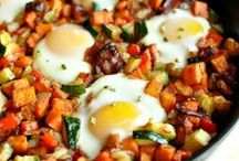 Clean Breakfasts (Everyday Healthy) / Breakfasts for every day - protein & veggies / by Jenn Thurman