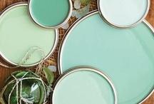 Kolor seledynowy&turkusowy