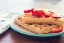 Clean Breakfasts (Treats) / Rare treats for breakfast - pancakes, crepes, cereal / by Jenn Thurman
