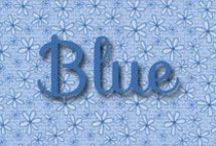 Color Inspiration | Blue / Blue Quilting Fabrics & Products / by Shabby Fabrics