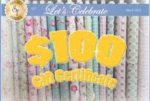 Contests and Giveaways! / by Shabby Fabrics