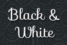 Color Inspiration | Black & White / by Shabby Fabrics