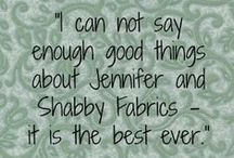 They Say... / Want to hear what others are saying about Shabby Fabrics? / by Shabby Fabrics