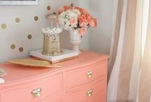 color inspiration // coral.