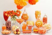 Sweets Tables & Candy Bars / All sorts of ideas for great and styled sweets tables, ice cream and candy bars. Yum!