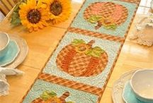 Vintage Blessings / Decorate your home all year long with these beautiful Vintage Blessings Wall hangings and Table Runners by Jennifer Bosworth of Shabby Fabrics.   / by Shabby Fabrics