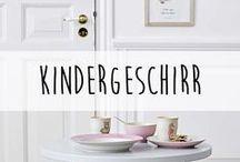Kindergeschirr ♥️ / Auch unsere lieben Kinder essen gerne von schönem Geschirr. Wenn es auch noch aus robustem Melamin ist, ist dies natürlich doppelt toll.
