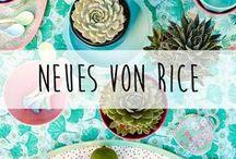 Neues von rice ♥️ / Auf dieser Pinnwand bekommst du ein paar erste Eindrücke von der neuen rice Kollektion.