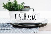 Tischdeko ♥️ / Auch wir holen uns gerne mal Inspirationen...