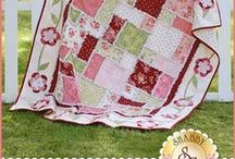 Welcome Home Flannel / Take a look at all of the fabrics, kits, patterns and more from the Welcome Home Flannel collection by Jennifer Bosworth & Shabby Fabrics for Maywood Studio!