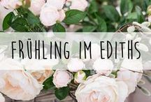 Frühling im ediths ♥️ / Polster, Osterdeko, Geschirr, Frühling, Vasen, Decken
