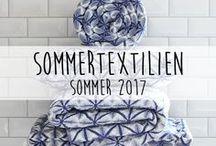 Sommertextilien ♥️ / Bei uns findest du die schönsten Sommertextilien für dein gemütliches Zuhause.