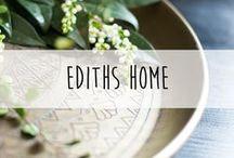 ediths Home Kollektion ♥️ / Auf dieser Pinnwand findest du wunderbare Deko-Inspirationen rund um die neue ediths Home Kollektion 2017