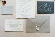 Gray Weddings / pretty #gray wedding inspiration  / by Elizabeth Anne Designs