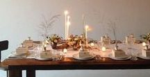 Soirees: Table & Place Settings / Tablescapes