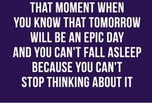 Sleep or lack of it ...