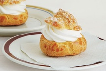 Cream puffs, cheese puffs, popovers, and eclairs / by Donna Zuckerberg