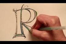Lettering / creative lettering ideas / by Julie McBee