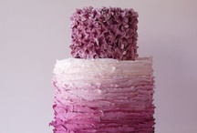 Ombre Wedding / ombre wedding inspiration and ideas