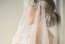 Veils & Headpieces / wedding veil and headpiece inspiration and ideas / by Elizabeth Anne Designs