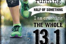 I just kept running & other health stuff.