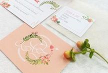 Peach Weddings / Peach wedding details, inspiration and ideas / by Elizabeth Anne Designs
