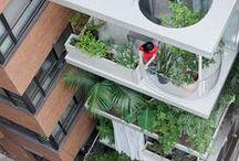guerilla gardening / Urban Artistic Green Spaces & Places