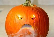 """Halloween & święto dyni / Pomysły na przedszkolne """"święto dyni"""" i menu halloweenowe."""