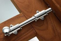 Door Hardware / It is a fine attention to detail that can make your home magnificent. With sturdy, yet fashionable door hardware, guests will be in awe as they move through one room into another.
