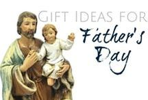 Gift Ideas for Father's Day / Q: What do you get for the man that helped form your faith? : You return the favor! Gifts don't have to be expensive to be meaningful.  / by Discount Catholic Products