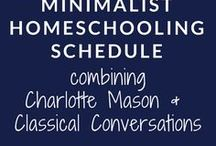 Minimalist Homeschool Schedules