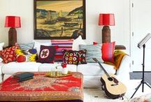 Bohemian Home / Bohemian home decor