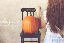Halloween / boo! Also? Tricks 'n treats