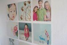 Photo Wall Display Inspiration / Wall Display inspiration