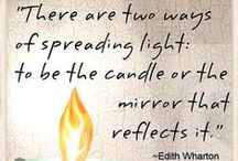 Let Your Light Shine - Candle Quotes / by Candles Off Main