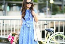 SPRING STYLE / Fashion, accessories, handbags and shoes perfect for the spring season.