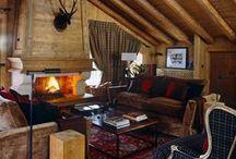 alpine retreats / rustic living... sort of / by Sarah