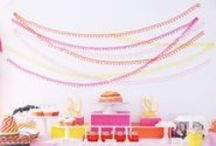 Backdrops / by Lemonade Moments - Invitations and Party Printables